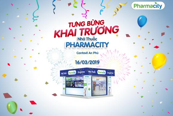 Tưng bừng khai trương nhà thuốc Pharmacity