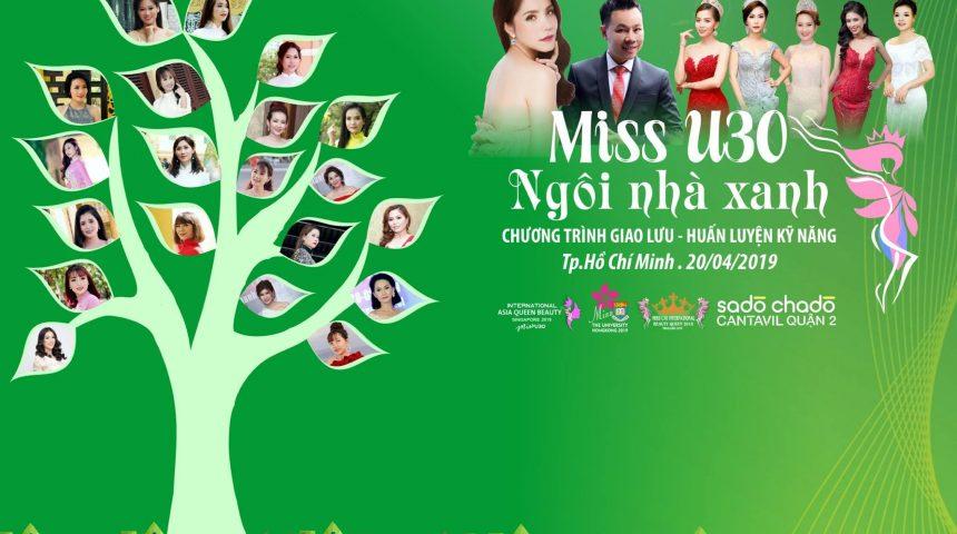 Miss U-30 – Chung tay vì lối sống xanh