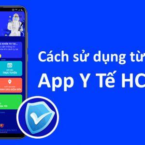 Cách check-in khai báo y tế điện tử qua app Y Tế HCM